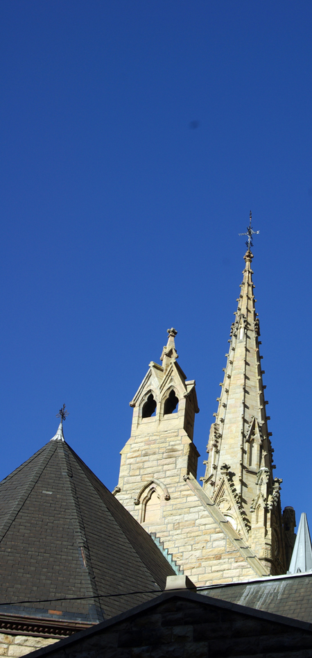 Old Church Roofs and Towers