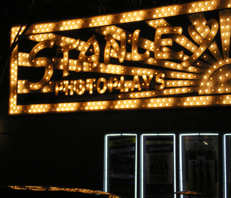 stanley theater sign