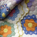 photo of section of quilt
