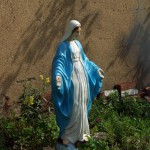 statue of the blessed virgin mary