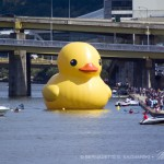 40 ft rubber duck on allegheny river