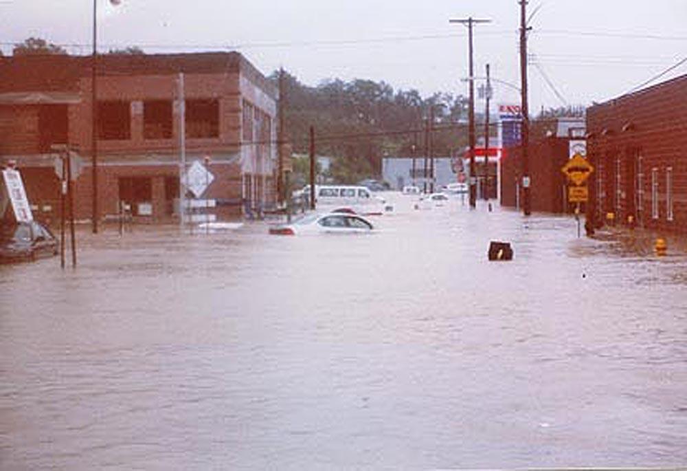 flooded carnegie