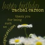 rachel carson tribute