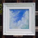 original pastel painting of clouds