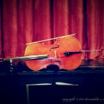 cello on stage