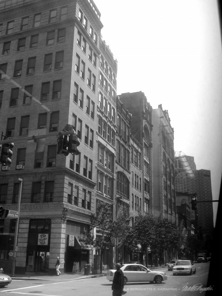 """""""Where? and When?"""", black and white photo, 12 x 18 © Bernadette E. Kazmarski"""
