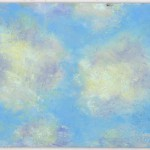 """Winter Sky Study, Late Afternoon"" pastel on self-prepared board, 11"" x 8"" © Bernadette E. Kazmarski"