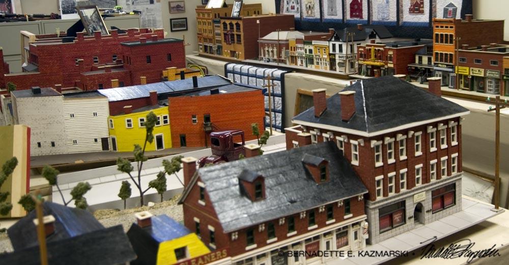 Main Street rooftops.