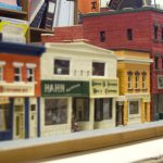 First block of East Main street, left side, model.